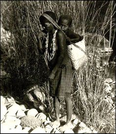 A Negrito Woman and Child in the Philippines by Okinawa Soba, via Flickr