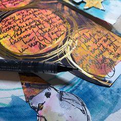 Dina Wakely ..Fudeball pen for journaling