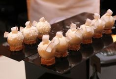 Cedric Grolet Grolet, Krispie Treats, Sweets, French, Desserts, Food, Recipes, Pastry Chef, Petit Fours