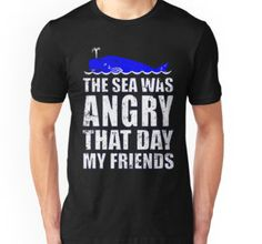 Seinfeld s The Sea Was Angry That Day My Friends T Shirt Long Sleeve Sweatshirt Hoodie for Men and Women