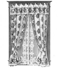 Window treatments popular at the turn of the century. early Kirsch publication, virtually all of the 14 window treatments show the influence of the Arts & Crafts movement—remarkable, given the popularity of competing styles.  Actual examples of Arts & Crafts-era window treatments are hard to come by. Highly taste-driven soft furnishings changed frequently with the next popular style. Lace, roller shades, and drapery fabrics are not well represented in old furnishing catalogs; furthermore, of...