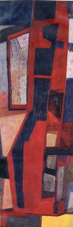 Maurice Estève (French, 1904-2001) Untitled, 1956 32,5 x 24,5 cm