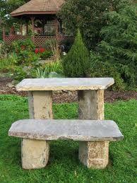 Basalt Garden Table