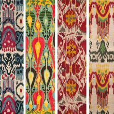 Fab.com | Hand-Tufted Ikat Rugs