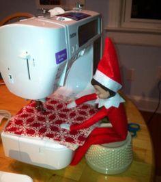 Sew, elf, sew!!