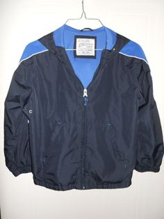 The Children Place Boys Navy/Royal Blue Wind Breaker Jacket Size 7 /8 Preowned #TheChildrensPlace #BasicJacket