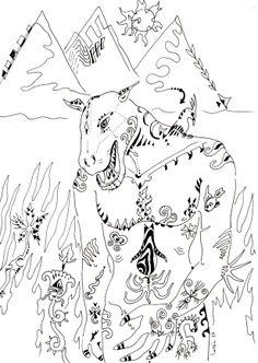 Florent LUCEA : Fils de Taouret : inspiration de la mythologie égyptienne