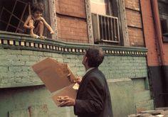 """Helen Levitt """"color"""""""