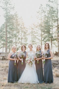 Charming Forest Wedding | SouthBound Bride | http://www.southboundbride.com/charming-forest-wedding-at-florence-farm-by-carolien-ben | Credit: Carolien & Ben