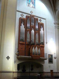 organ at the cathedral in Castellon de la Plana by Marlis1, via Flickr