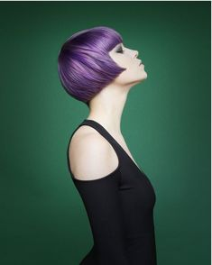 ook at some of the stunning photos from the 14 NAHA finalist categories and get ready to be inspired! Bold Hair Color, Cut And Color, Hair Colors, Beauty Uk, Hair Beauty, Natural Hair Styles, Short Hair Styles, Color Lila, Stylish Haircuts