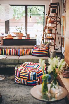 We hope you're all enjoying a relaxing start to the new year! ⠀⠀ If one of your New Years resolutions is to brighten up your home with soft furnishings, then this set up should definitely inspire you ☀️ ⠀⠀ A S H A N T I D E S I G N sales@ashantidesign.com 77 Kloof street, Cape Town - ashantidesign.com - ⠀⠀ Scatter Cushions, Throw Pillows, Resolutions, Soft Furnishings, Bean Bag Chair, Comfy, Inspire, Traditional, Contemporary