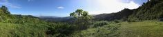 View from Mirador de Archipielago of Islas de Bocas del Toro in the vicinity of La Fortuna Dam, Panama
