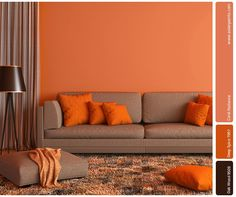 Coral works perfectly against classic wooden flooring, intermingling to radiate warmth and cheer throughout! The rug too, has the same undertones of the coral on the wall. As the days get nippy with the arrival of winter, add warmth and vibrancy with the versatile Coral Radiance – the Colour of the Year!