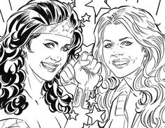 """Check out new work on my @Behance portfolio: """"Wonder Woman '77 Meets The Bionic…"""