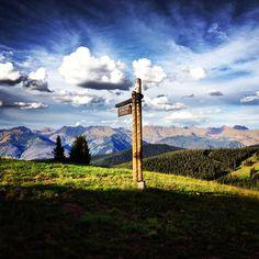 Mountain biking in Vail, Colorado summer 2012