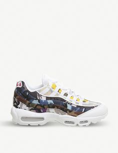 sale retailer 5549f a87ca NIKE Air Max 95 leather trainers