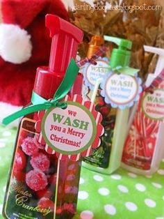 $1.00 Cheap Christmas Gifts- We Wash You A Merry Christmas cheap christmas gifts, make money for christmas #christmass #gift