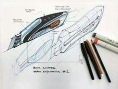 #cutter #industrial #design #sketch