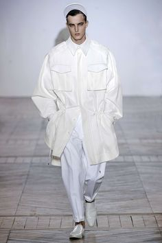 we like boys in white.  juun.j, spring 2013 via diane pernet.