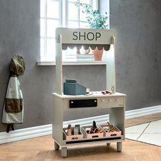 Flexa Toys livsmedelsbutik Nursery Inspiration, Kids Furniture, Pantone, Playroom, Vanity, Toys, Future, Home Decor, Baby