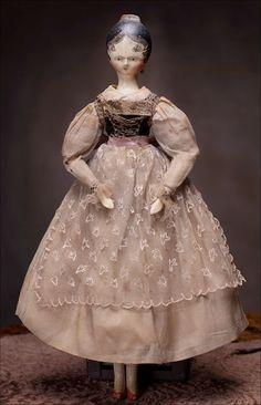 circa 1820 doll made in Austria