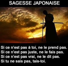 #citation #sagesse #japon #prend #toi #pas #juste #faire #vrai #taire Law Of Attraction Affirmations, Love Affirmations, Confucius Citation, Fulmetal Alchemist, Athlete Quotes, Realist Quotes, Manifestation Journal, Word Sentences, French Quotes
