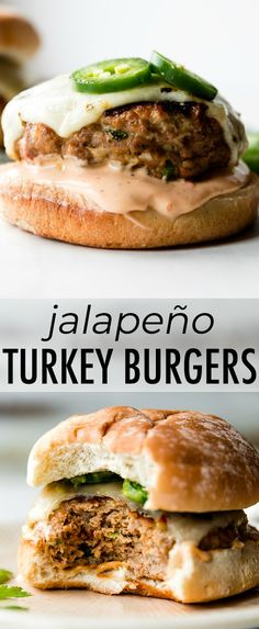 How to make big juicy cheesy and mildly spicy jalapeño pepper jack turkey bu Food And Drink-Recipes Big Cheesy Jack jalapeño Juicy mildly pepper spicy Turkey Turkey Burger Recipes, Ground Turkey Recipes, Beef Recipes, Cooking Recipes, Healthy Recipes, Healthy Turkey Burgers, Baked Turkey Burgers, Homemade Turkey Burgers, Food Dinners