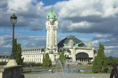 The Limoges train station, a jewel of Art Deco architecture