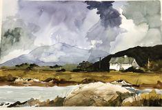 Posts about West coast of Ireland written by gmteece Art Painting, Landscape Paintings, Urban Sketching, Painting, Watercolor Mixing, Art Painting Acrylic, Watercolor Landscape, Sunset Painting, Landscape Art