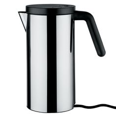 Alessi's Hot.it kettle features a simple and elegant design that makes it a welcome addition to any kitchen.