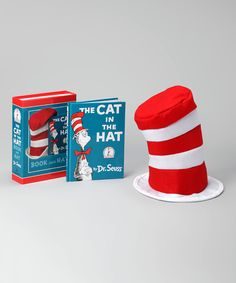Look at this #zulilyfind! The Cat in the Hat Book & Hat Set by Dr. Seuss #zulilyfinds