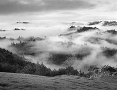 Clearing Storm, Sonoma County Hills by Ansel Adams