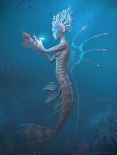 Carribean Mermaid 3d by Gilberto Magno