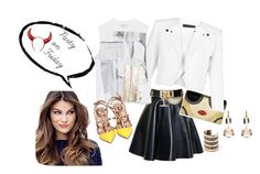 """Parte"" by carla1509 on Polyvore featuring moda, MSGM, Alice + Olivia, BCBGMAXAZRIA, Zara, ULTA, Valentino y MANGO"
