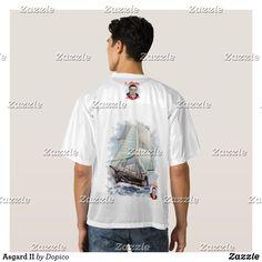 Camiseta De Fútbol Americano Para Hombre Asgard II  dopico  zazzle  arte   artes 9fefc10ea94