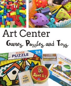 Art Center Games Puzzles and Building Toys