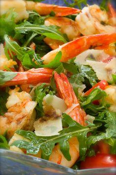 салат креветки белоника