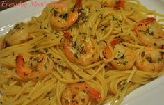 ~Easy Shrimp Scampi Pasta~ A fantastic seafood supper that is quick, budget-friendly, and most of all delicious! This beautiful meal can be on your loved ones' plates in about 30 minutes!