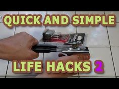 More clever life hacks:)
