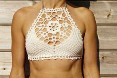 This listing is PDF CROCHET PATTERN for Venus Bikini top and Capheira Brazilian Bottom, Not finished items:) Skill level: EASY, INTERMEDIATE You should know the basic stiches: chain stitch, single crochet, slip stitch, double crochet, halfdouble crochet. All the other sticthes used in