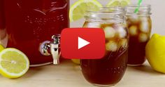 How To: Make Homemade Iced Tea