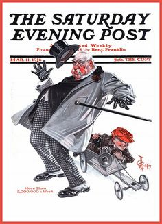 U.S. Saturday Evening Post cover Mar. 11, 1916 /  by Joseph Christian Leyendecker | Flickr by carlylehold