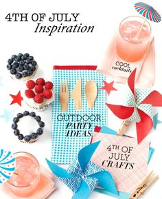 4TH OF JULY INSPIRATION & FUN PROJECTS