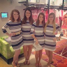 Guess who's back?? Lilly in Skipper Stripe! #lillypulitzer
