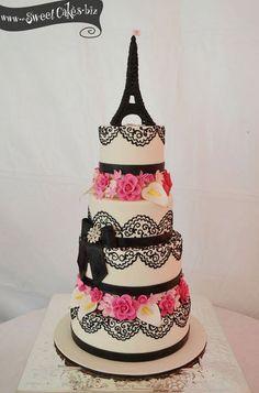 Paris Themed Cake Parisian Cakes Pinterest Paris Themed - Birthday cake paris