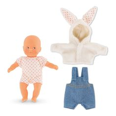 Corolle My Mini Cuddle - Baby Doll on the Prairie 20cm-product