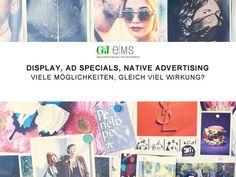 Was wirkt am Besten: Display, AdSpecials oder Native Advertising? [Sponsored Post]