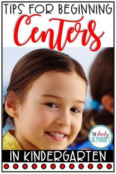 Awesome tips on getting started with centers in kindergarten! Kindergarten First Week, Kindergarten Classroom, Preschool Curriculum, Preschool Activities, Homeschooling, Literacy Stations, Literacy Centers, Kindergarten Centers, Kindergarten Center Management