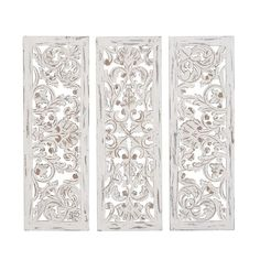 You'll love the 3 Piece Rustic Carved Ornate Wood Wall Décor Set at Joss & Main - With Great Deals on all products and Free Shipping on most stuff, even the big stuff.